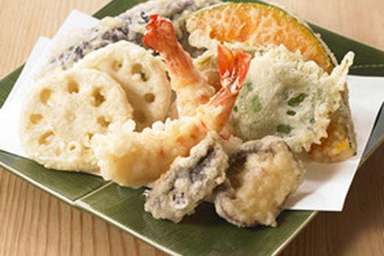 天ぷらでお好みの具材は何ですか? ○複数可、画像は一例