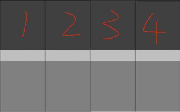 aviutlの質問です。 ランキング動画みたいなのを作っているのですが、 動かし方、数値などが分かりません。 横の直線移動なのは分かるのですが、、。 一枚目(1〜4位)の画像後に二枚目(5〜8位)をスムーズに繋げる為に必要な動作を教えてください! 画像の大きさは1920×1080です。 9vaeは要りません
