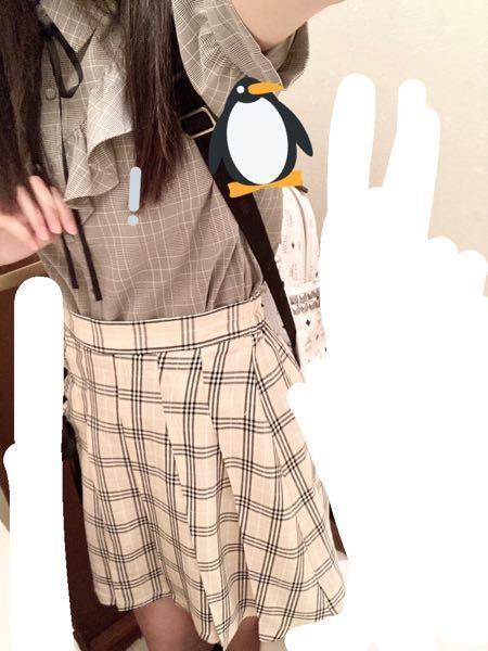 10代です。この服の組み合わせに厚底靴ってダサいですか? うつってませんがスカートには端に編み上げリボンついてます ださいか自分じゃよくわかりません 改善点あれば教えていただけたら嬉しいです