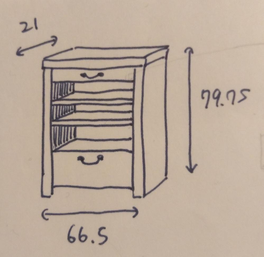 棚の引き出しを作る際の前板の材料で悩んでいます。 添付写真のような棚をパイン材を中心に組み、引き出しの枠など見えないところはシナかラワンの合板を使う予定をしています。 そこで下の引き出しの前板の...