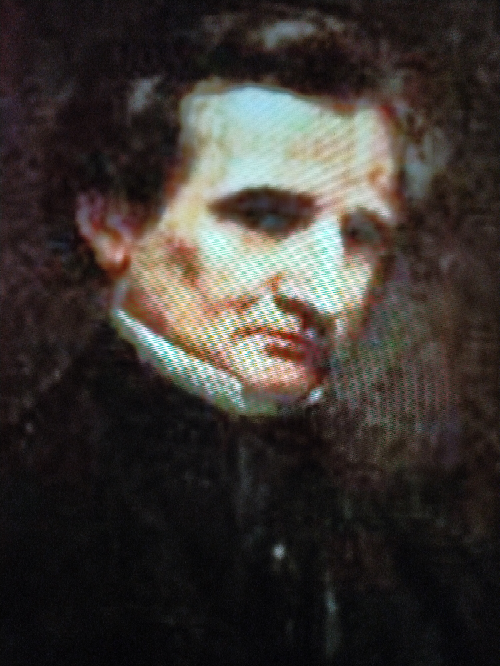 この肖像画は誰が描いたものですか?