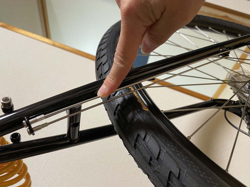自転車のこのパーツはどういうものですか?