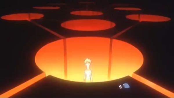 エヴァンゲリオン旧劇場版25話で、ここのレイは何をしてるのですか? 人の形を保つために定期的にLCLに浸かっているのは分かりますが、ここは浸かってる場所じゃないですよね。エヴァの制御システムでし...