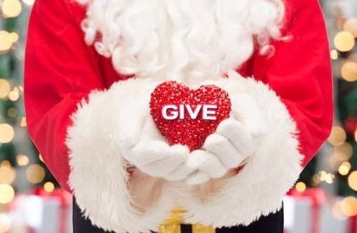 クリスマスにはチャリティに参加しますか??
