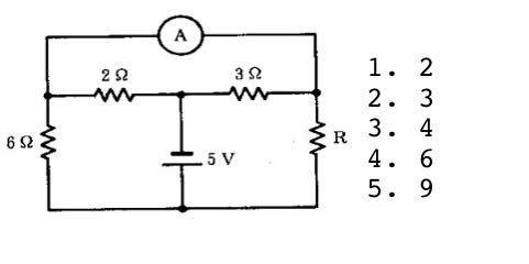 電気電子工学の問題です。 図の回路において、電流計の指示が0となる抵抗Rの値は何Ωか。(ブリッジ回路に書き直して、計算式も書くこと)という問題です。 ブリッジ回路に書き直すのは自分で考えてみたいと思います。計算の仕方がわからないので、わかる方解答お願いします。