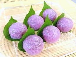 梅雨入りには紫陽花のおはぎを食べますか??