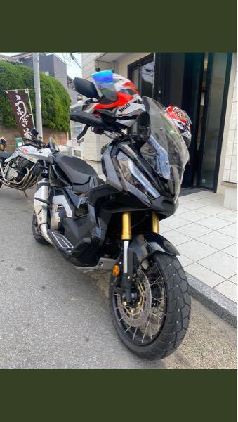 このバイクはホンダの何て言うバイクですか?