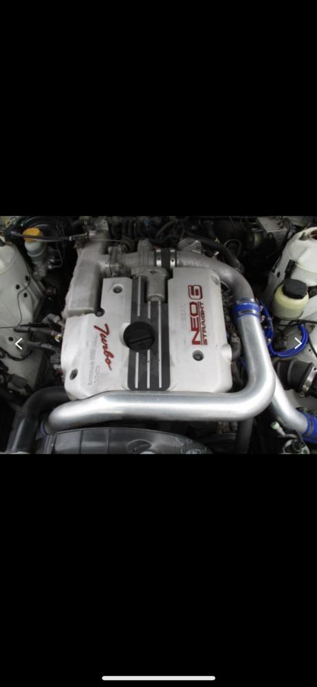 こちらローレルに付いてるエンジンなのですがこちらはRB25detでしょうか? 詳しい方よろしくお願いします #ローレル #RB25
