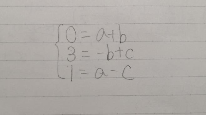 これの解き方をお願いします。字が汚くてすみません。(恒等式の分野です)