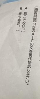 高校古典の現代語訳です。わかる方お願いいたします。2問ともお願いしたいです。