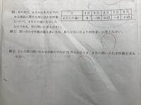 中一正の数と負の数の問題です。  (2)の解き方を教えてください。  写真が見にくいですが、よろしくお願いします。