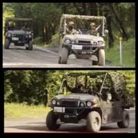 自衛隊の車両ですが名前と用途、性能など教えてください。