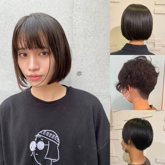 写真のボブのような髪質の人が補足の写真のように切ってもらうのは難しいのでしょうか? また切ってもらうなら美容院で大丈夫ですか???