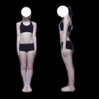 骨格診断お願いします! 見た感じどれっぽいですか〜? コロナが落ち着いたらプロに見てもらいに行こうと思ってるので偏見とか勘でざざっと見ていただくだけで大丈夫です よろしくお願いします  ちなみに155cm43kgです