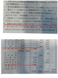 この問題の8、165000×3/12=41,250だと思ったんですけど どう計算したら前払保険料が33,000になるのでしょうか