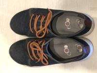 この靴はどこのメーカーかわかる方いらっしゃいますか? とても履き心地がよかったんですが、どこで買ったか忘れてしまい、靴に書いてあったものも消えてしまいました。