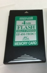 マクセルのフラッシュメモリになります、このカードのカードリーダーなどはあるのでしょうか。 ありました、どのようなものか、現在販売されているか教えていただけないでしょうか。 よろしくお願いします。