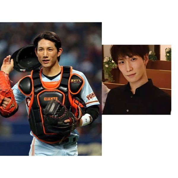 巨人の小林誠司選手とSnowManの渡辺翔太くんって顔なんとなく似てませんか? 今日こばの顔を...