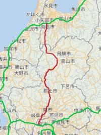 東海北陸自動車道は下呂や高山などを避けて通っているので、その点では「損」しているのでは?