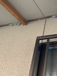 軒下に白っぽい灰色の巣?みたいなものを見つけたのですがこれは何の巣なのか?ご存知の方がおられたら教えてください。駆除の仕方わかればそれもお願いしますm(__)m