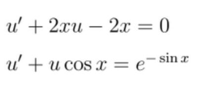 この微分方程式を定数変化法を使って解く方法を教えてください