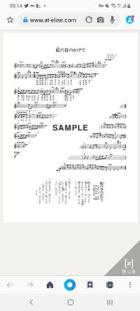 此曲の楽譜は最初に調号がないのですが、これはミスプリントですか?