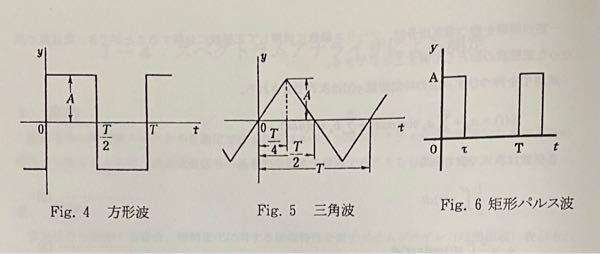 波に関する問題で方形波と矩形波について検討せよ。 というのがあるのですがこれは二つの違いを説明するのでしょうか? 図はこんな感じです。二つに違いはないと思うのですが何を書くのがいいでしょうか?