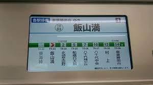 JTBの時刻表で【飯山満=はさま】と書いた注釈がありましたが、難読駅のためそうしていたのでしょうか? 車内LCDがあれば飯山満とはさまが切り換わるため、見て驚く方もいるかもしれませんね。