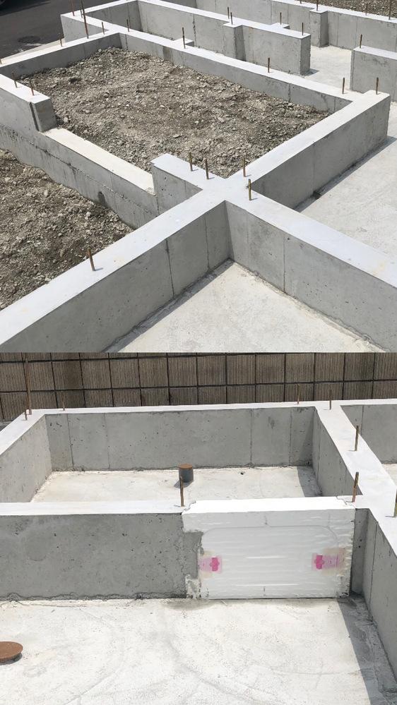 住宅建築中です。 現在、基礎工事が終わってから3週間程経ちます。 玄関部分のみ砂利が入ったまま放置してますが、 この状態で問題ないでしょうか。 雨ざらしの状態ですが… 棟上げを行うまででトータル1ヶ月少しはこの状態です。 又、浴室部分のところには 発泡スチロールみたいな物をかましてます。 これも問題ないでしょうか。 素人の為、ご教授頂ければ幸いです。 宜しくお願い致します。