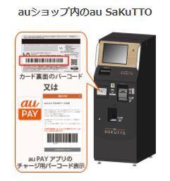 auショップでauWalletカードにチャージする場合。 画像のような黒い機械でチャージすると思います。 コンビニでチャージする場合、セブンイレブンだと1000円以上で1000円単位、ローソンだ...