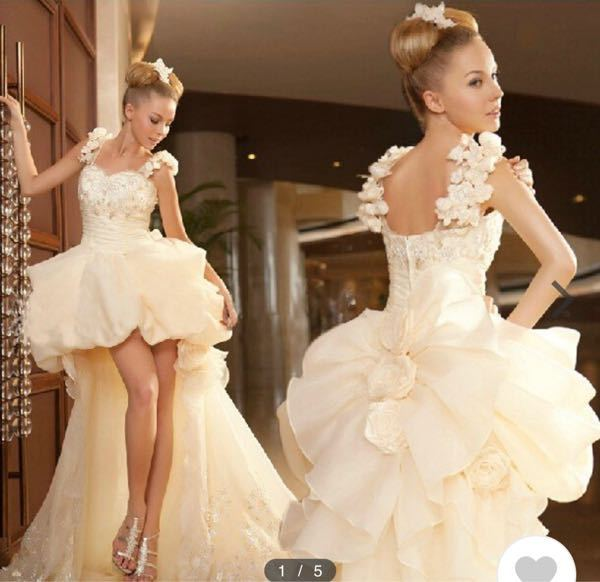 このような感じのドレスでピンクのもの売られているサイトやお店分かりますでしょうか?