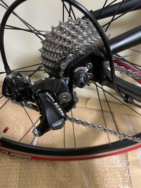 メリダリアクト400 2017年モデル 初めて後輪を外してスプロケ掃除した後に取り付けようとしたのですが奥まで思うよ入りません。後輪も重く回らないです。 分からない場合は自転車屋さんに持っていけば良いですかね?