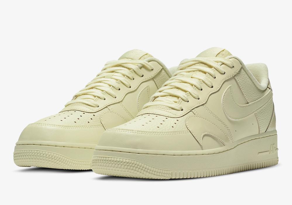 これ何かの限定だったりします? あとカッコいいですか? Nike Air Force 1 Low Misplaced Swooshes Pale Yellow