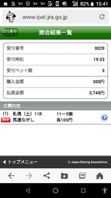 函館スプリント 14―3.5.7.11.16 なにかいますか?