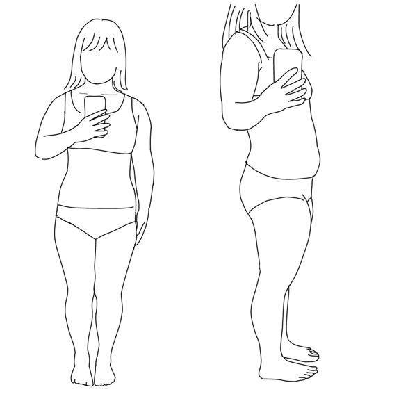 こんなデブでも骨格診断できる方いますか? 太ってる方が診断しやすいって言ってる方がいたのですが本当ですか?