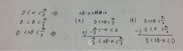 (A)と(B)の考え方の違いは何ですか?