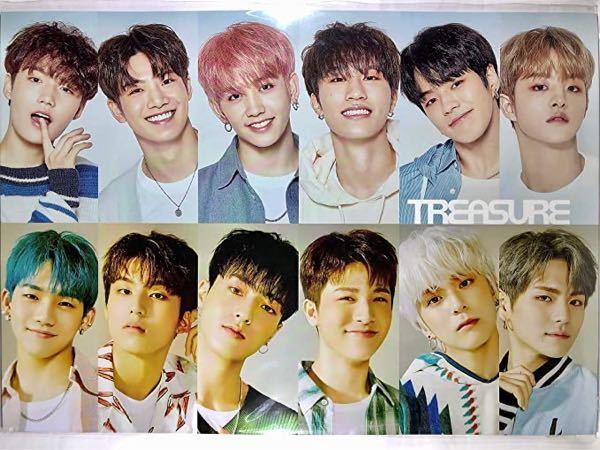 この写真で上の左から右、下の左から右と言う順番でメンバーの名前を教えてください TREASURE