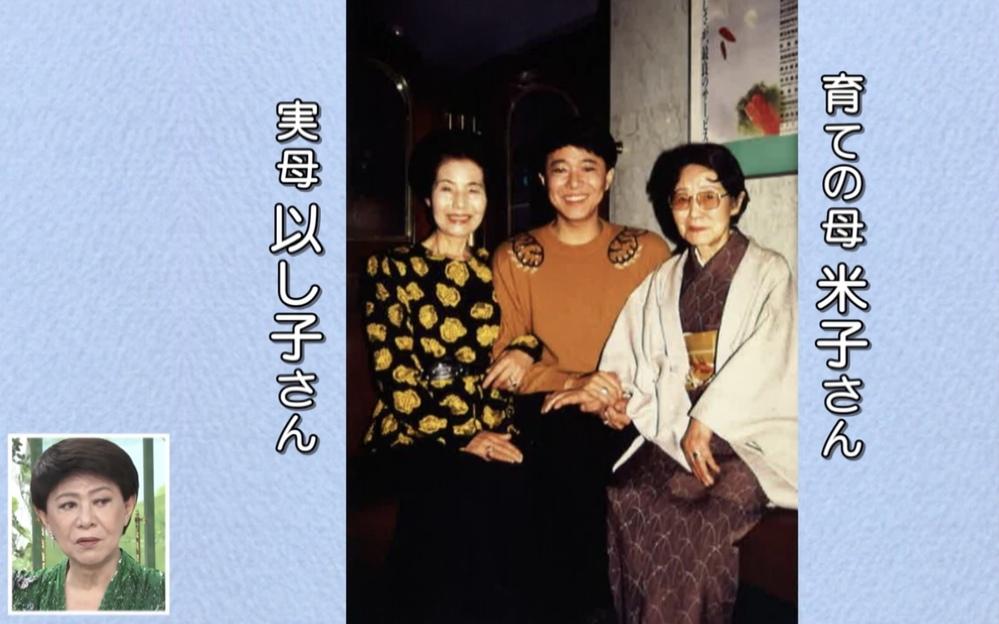 Mさんはなぜ母親が2人いるのですか? 徹子の部屋でチラッと出てきて気になりました。