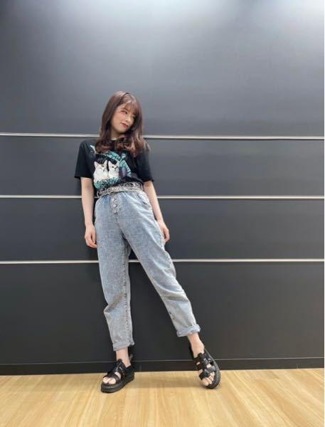 齋藤冬優花さんが履いてるサンダルはどこのなんてゆうサンダルですか? メンズのもありますか?