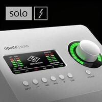 オーディオインターフェイス UNIVERSAL AUDIO APOLLO SOLOにって質問です。  過去 https://www.soundhouse.co.jp/products/detail/item/281670/  現在 https://www.soundhouse.co.jp/products/detail/item/286374/  オーディオインターフェイス本体は 同じものと...