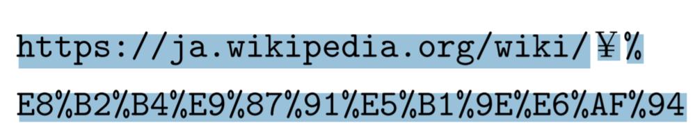 latexでurlを打ちたいのですが url内に%が入っておりPDFにしたときに うまく飛べません \url{} を使っています どうすればいいですか?