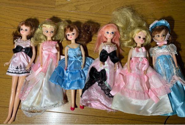 服装は売られていた時の服装ではありません。人形の名前など詳しい情報を教えてほしいです。