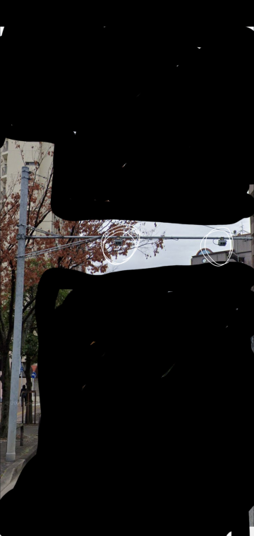 近所に設置されている電柱についてました。 これって防犯カメラなのでしょうか? レンズの部分がないようにも見えるのですが…