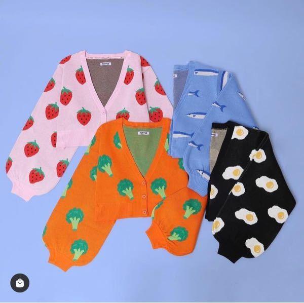 たまたま画像拾ったのですが、この服ってどこのブランドか分かる方いますか? 目玉焼きがすごい可愛くて欲しいです