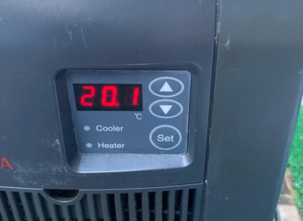 レイシーのlx-110gxを中古で購入したのですが、取り扱い説明書がありません。 画像のボタンの操作方法、温度設定方法を教えて頂けますか?