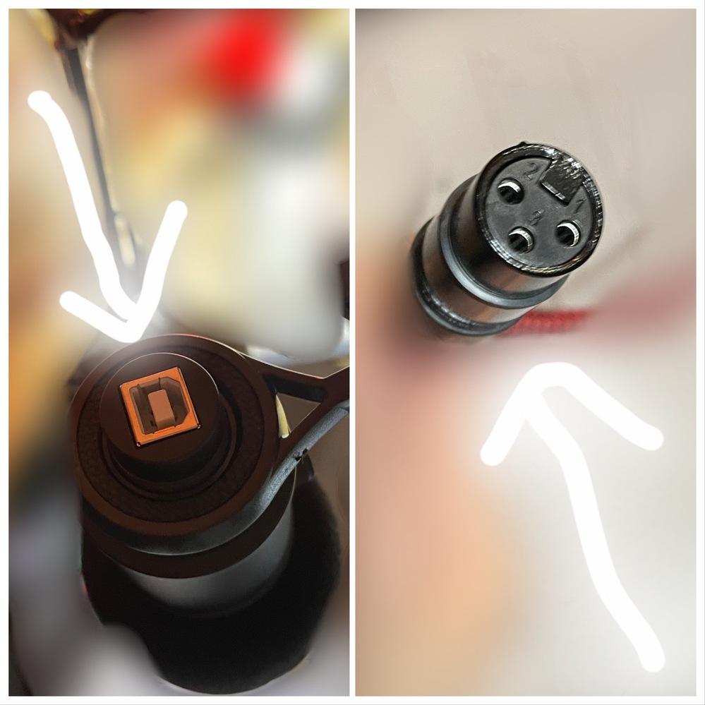 助けてください!USBマイクを通常のマイクコードに変換する方法 スマートフォンで配信するためにコンデンサーマイクとYAMAHA AG03を購入したのですが、コードの形が合わないことに気づきました。 見ずらいですが左の形を右の形に変換することは出来ないでしょうか? 機械に疎く、検索の仕方がわからなかったのでこちらで質問させて頂きました。 よろしくお願い致します。