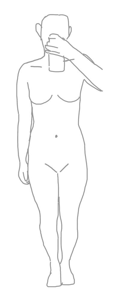 この骨格なんですか? わかりずらくてすみません(/. .\) 身長は160近くで、体重は52くらいです!