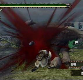 昔のモンハン並に出血表現がド派手なアクションゲームって他にも有りますか?