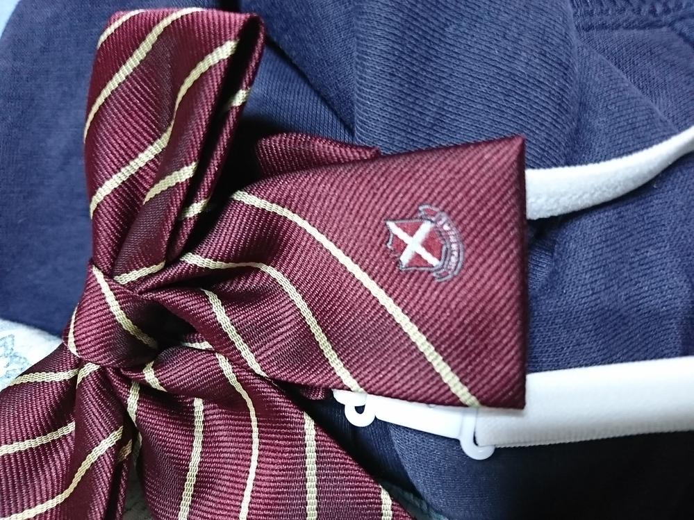 この制服のネクタイ(リボン)は、どこの学校のですか?大阪(か近辺)だと思います。