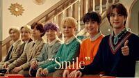 BTSの日本のcmですが、緑のセーターの男の子の名前を教えてください。